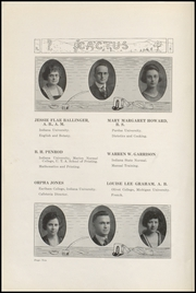 Page 14, 1922 Edition, Marion High School - Cactus Yearbook (Marion, IN) online yearbook collection