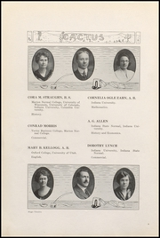 Page 16, 1922 Edition, Marion High School - Cactus Yearbook (Marion, IN) online yearbook collection