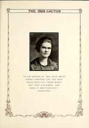 Page 13, 1924 Edition, Marion High School - Cactus Yearbook (Marion, IN) online yearbook collection