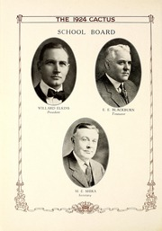 Page 16, 1924 Edition, Marion High School - Cactus Yearbook (Marion, IN) online yearbook collection