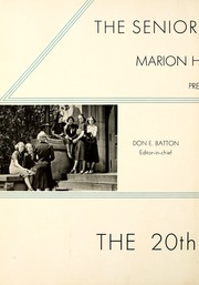 Page 6, 1938 Edition, Marion High School - Cactus Yearbook (Marion, IN) online yearbook collection