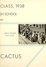 Page 7, 1938 Edition, Marion High School - Cactus Yearbook (Marion, IN) online yearbook collection