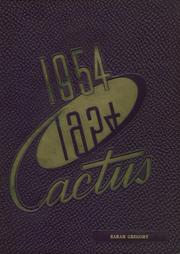 1954 Edition, Marion High School - Cactus Yearbook (Marion, IN)