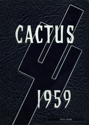 1959 Edition, Marion High School - Cactus Yearbook (Marion, IN)