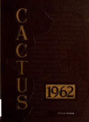 1962 Edition, Marion High School - Cactus Yearbook (Marion, IN)