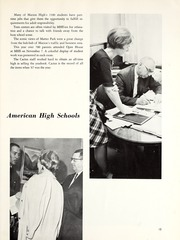 Page 17, 1967 Edition, Marion High School - Cactus Yearbook (Marion, IN) online yearbook collection