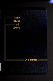 1979 Edition, Marion High School - Cactus Yearbook (Marion, IN)