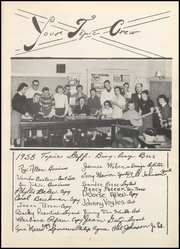 Page 7, 1958 Edition, Jeffersonville High School - Pic Yearbook (Jeffersonville, IN) online yearbook collection