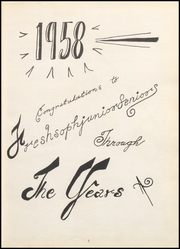 Page 9, 1958 Edition, Jeffersonville High School - Pic Yearbook (Jeffersonville, IN) online yearbook collection