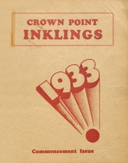 Page 1, 1933 Edition, Crown Point High School - Excalibur Yearbook (Crown Point, IN) online yearbook collection