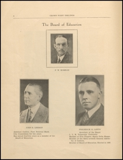 Page 6, 1933 Edition, Crown Point High School - Excalibur Yearbook (Crown Point, IN) online yearbook collection
