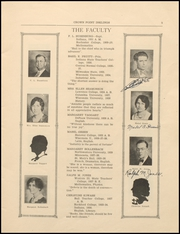 Page 7, 1933 Edition, Crown Point High School - Excalibur Yearbook (Crown Point, IN) online yearbook collection