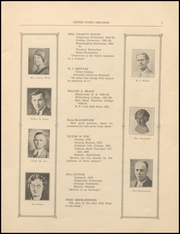 Page 9, 1933 Edition, Crown Point High School - Excalibur Yearbook (Crown Point, IN) online yearbook collection