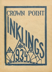 Page 1, 1934 Edition, Crown Point High School - Excalibur Yearbook (Crown Point, IN) online yearbook collection