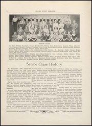 Page 10, 1934 Edition, Crown Point High School - Excalibur Yearbook (Crown Point, IN) online yearbook collection