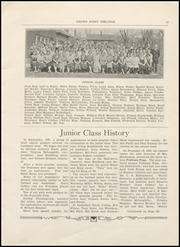 Page 15, 1934 Edition, Crown Point High School - Excalibur Yearbook (Crown Point, IN) online yearbook collection