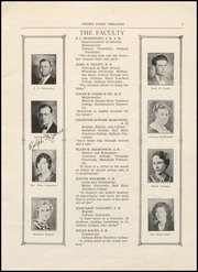 Page 7, 1934 Edition, Crown Point High School - Excalibur Yearbook (Crown Point, IN) online yearbook collection