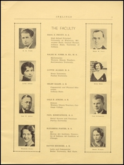 Page 9, 1936 Edition, Crown Point High School - Excalibur Yearbook (Crown Point, IN) online yearbook collection