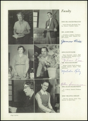 Page 16, 1953 Edition, Crown Point High School - Excalibur Yearbook (Crown Point, IN) online yearbook collection