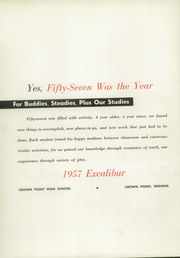 Page 6, 1957 Edition, Crown Point High School - Excalibur Yearbook (Crown Point, IN) online yearbook collection