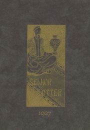 New Albany High School - Senior Blotter Yearbook (New Albany, IN) online yearbook collection, 1927 Edition, Page 1