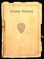 New Albany High School - Senior Blotter Yearbook (New Albany, IN) online yearbook collection, 1928 Edition, Page 1