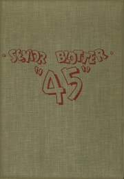 New Albany High School - Senior Blotter Yearbook (New Albany, IN) online yearbook collection, 1945 Edition, Page 1