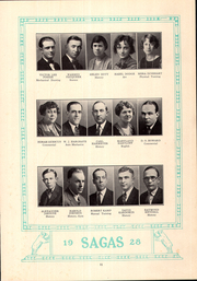 Page 15, 1928 Edition, Central High School - Sagas Yearbook (Evansville, IN) online yearbook collection