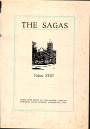Page 5, 1928 Edition, Central High School - Sagas Yearbook (Evansville, IN) online yearbook collection