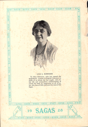 Page 6, 1928 Edition, Central High School - Sagas Yearbook (Evansville, IN) online yearbook collection
