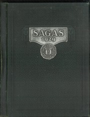 1929 Edition, Central High School - Sagas Yearbook (Evansville, IN)