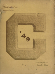 1949 Edition, Central High School - Sagas Yearbook (Evansville, IN)