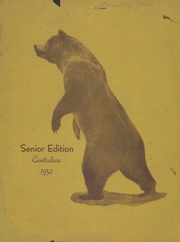 1950 Edition, Central High School - Sagas Yearbook (Evansville, IN)