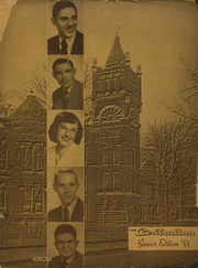 1953 Edition, Central High School - Sagas Yearbook (Evansville, IN)