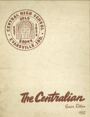 1957 Edition, Central High School - Sagas Yearbook (Evansville, IN)