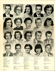 Page 16, 1957 Edition, Central High School - Sagas Yearbook (Evansville, IN) online yearbook collection