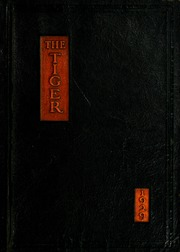 1929 Edition, Warsaw High School - Tiger Yearbook (Warsaw, IN)