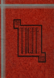 1933 Edition, Warsaw High School - Tiger Yearbook (Warsaw, IN)