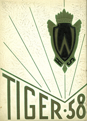 1958 Edition, Warsaw High School - Tiger Yearbook (Warsaw, IN)