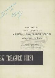 Page 7, 1957 Edition, Madison Heights High School - Treasure Chest Yearbook (Anderson, IN) online yearbook collection