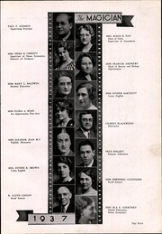 Page 13, 1937 Edition, Muncie Central High School - Magician Yearbook (Muncie, IN) online yearbook collection