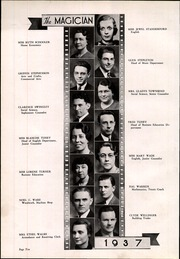 Page 16, 1937 Edition, Muncie Central High School - Magician Yearbook (Muncie, IN) online yearbook collection