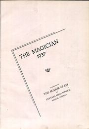 Page 7, 1937 Edition, Muncie Central High School - Magician Yearbook (Muncie, IN) online yearbook collection