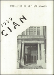 Page 7, 1939 Edition, Muncie Central High School - Magician Yearbook (Muncie, IN) online yearbook collection