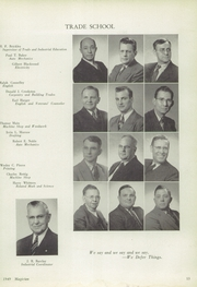 Page 17, 1949 Edition, Muncie Central High School - Magician Yearbook (Muncie, IN) online yearbook collection