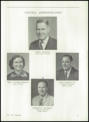 Page 15, 1952 Edition, Muncie Central High School - Magician Yearbook (Muncie, IN) online yearbook collection