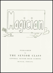 Page 5, 1952 Edition, Muncie Central High School - Magician Yearbook (Muncie, IN) online yearbook collection