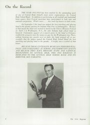 Page 10, 1954 Edition, Muncie Central High School - Magician Yearbook (Muncie, IN) online yearbook collection