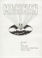 Page 5, 1954 Edition, Muncie Central High School - Magician Yearbook (Muncie, IN) online yearbook collection