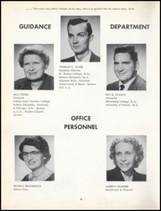 Page 10, 1957 Edition, Calumet High School - Chieftain Yearbook (Gary, IN) online yearbook collection